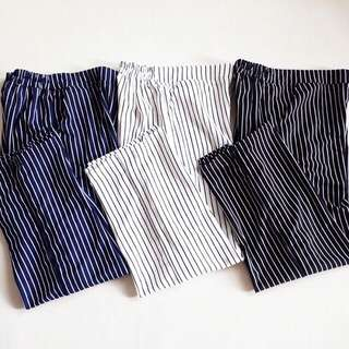 Cullots Pants Stripe