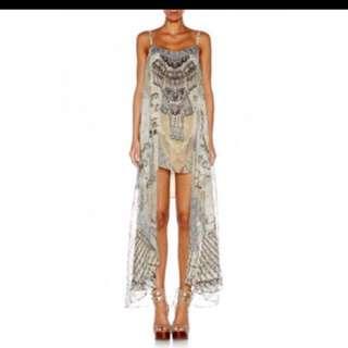 Camilla love weave mini dress -FOR RENT