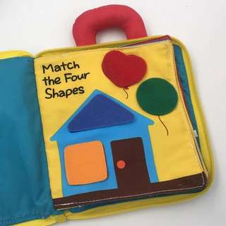 [Instock] Infant/Babies Educational Soft Cloth Book