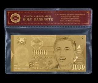 1k Gold 999 Note