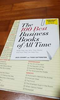 THE 100 BEST BUSINESS BOOKS OF ALL TIME - Jack Covert & Todd Sattersten