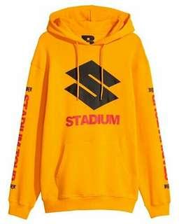 Hoodie Yellow Stadium Tour Purpose Tour Justin Bieber x H&M