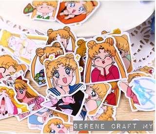 Set of 33pcs Sailormoon Sticker Pack