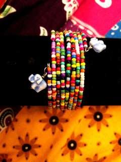 Assorted colors Handmade Seed beads bracelet