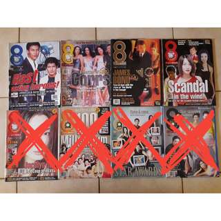 8 Days magazines  - Countdown to Y2K issues