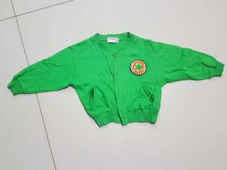Baby Toddler Kid Green Jacket Coat