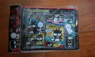 In stock Sanrio Bad Badtz Maru mesh bag A5 size