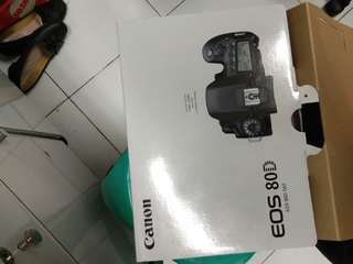 Canon EOS 80D Wi-Fi DSLR Body Only Kredit Cepat