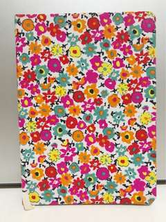 Floral writing notebook