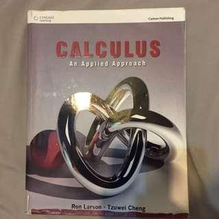 🚚 Calculus An Applied Approach