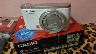CASIO EX-ZR5000 白色 美顏相機 全配 保固內