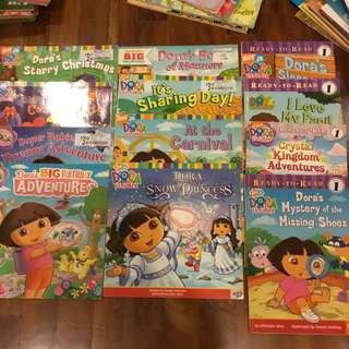 Dora the explorer readers - set of 12 storybooks