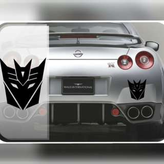 Transformers Decepticon Autobot Sticker Car Vinyl Decal