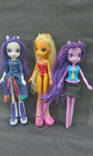 MLP Doll Set ( 3 dolls)