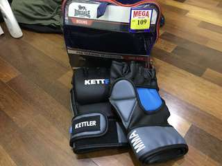 Package Boxing Gloves & Head Guard