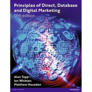 Principles of Direct Database _ Digital Marketing, 5th Edition