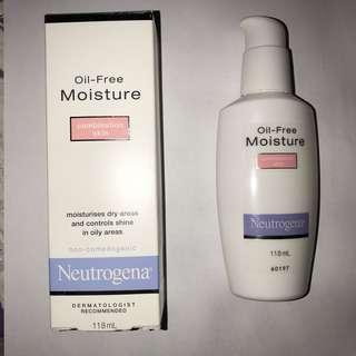 Neutrogena moisturiser