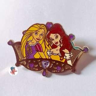 [交換優先] 迪士尼 長髮公主 美女與野獸 pins