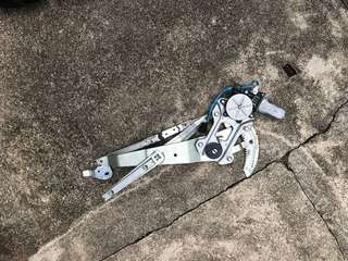 2006, 2007, 2008 Subaru Impreza sedan TS front right driver side power window motor and regulator gear set