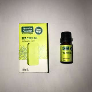 Thursday tea tree oil