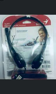 Lightweight PC Headset