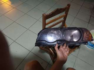 Bmw e46 ci coupe headlight