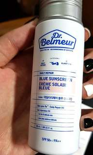 Dr Belmeur Daily Repair Blue Sunscreen SPF50+/PA++