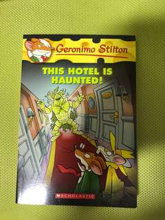 Geronimo Stilton - This Hotel is haunted