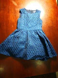 Baby Dress. Mark & Spencer 2 to 3 years old