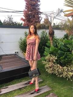 Checkered Tutu dress