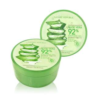 NOW ON HAND! Aloe Vera Gel by Nature Republic