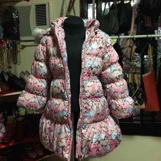 Pink Cute Winter Bubble Jacket