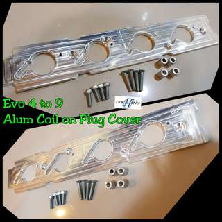 Evo 4 to 8 COP Alum Plug Cover