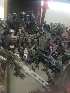 Transformers Figurines (Clearing All As A Set)