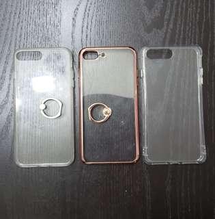 3pcs Iphone 8 Plus back cases