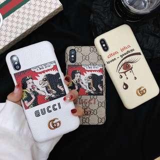 Instocks GG Snow White x Elton John IPhone 6/6S/7/7+/8/8+/X