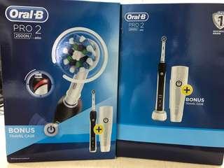 最新 Oral-B - Pro2 2500N 電動牙刷 (包郵)