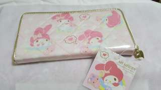 My Melody Water Resistance Wallet