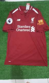 Liverpool 18/19 home with western and epl patch