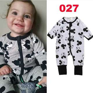 Mickey Bonds Sleepsuit