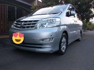 Toyota Alphard SG Redy