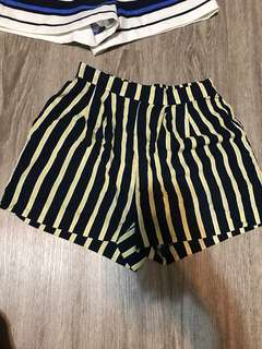 BN H and M Striped Lounge Shorts