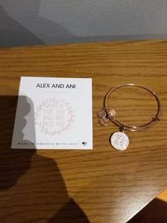 Alex and ani what is for you will not pass you bangle