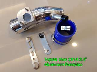 2.5inch Vios 2014 Alum Filter Rampipe kit