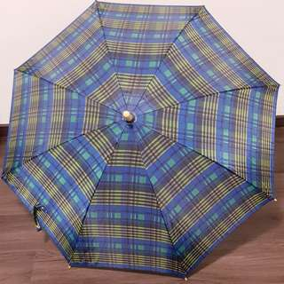 Umbrella checkered design 53cm (excluding handle and tip)