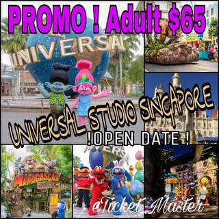 UNIVERSAL STUDIO SINGAPORE ADMISSION TICKET - USS ETICKET