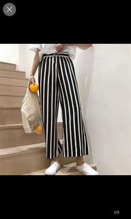 Junie stripe pants