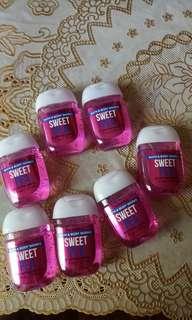 Bath and Body Pocket bac Sanitizer