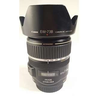 Canon EF-S 17-85mm f4-5.6 IS USM (CL101)