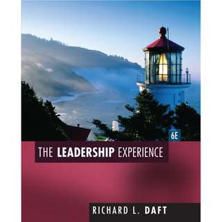 The Leadership Experience 6th edition